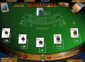 Blackjack direttamente su pc