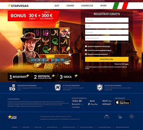 Recensione casino online Starvbegas Slot
