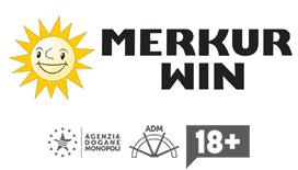 Il logo di merkur win